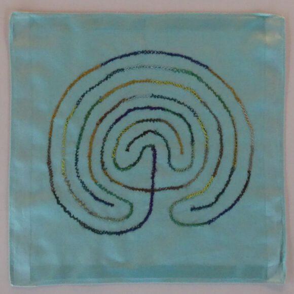 Mein Taschentuch-Fingerlabyrinth